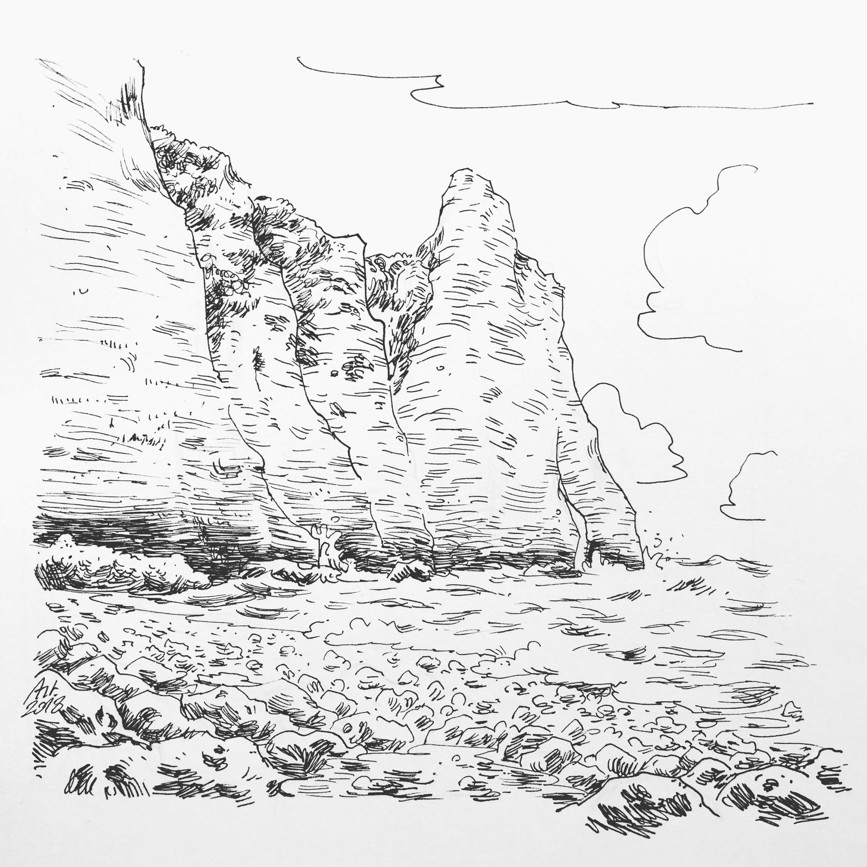 Cliffs of Étretat